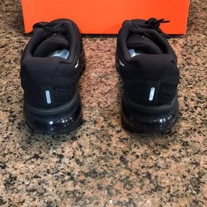 Nike Shoes | Womens Air Max 2017 849560001 Running Black